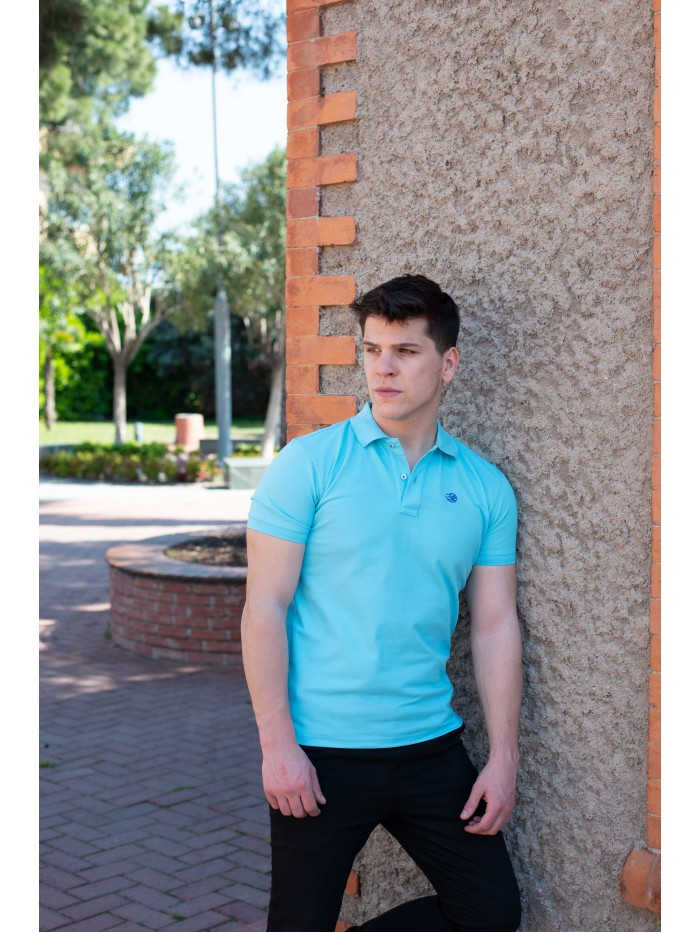 Turquoise Polo T-Shirt
